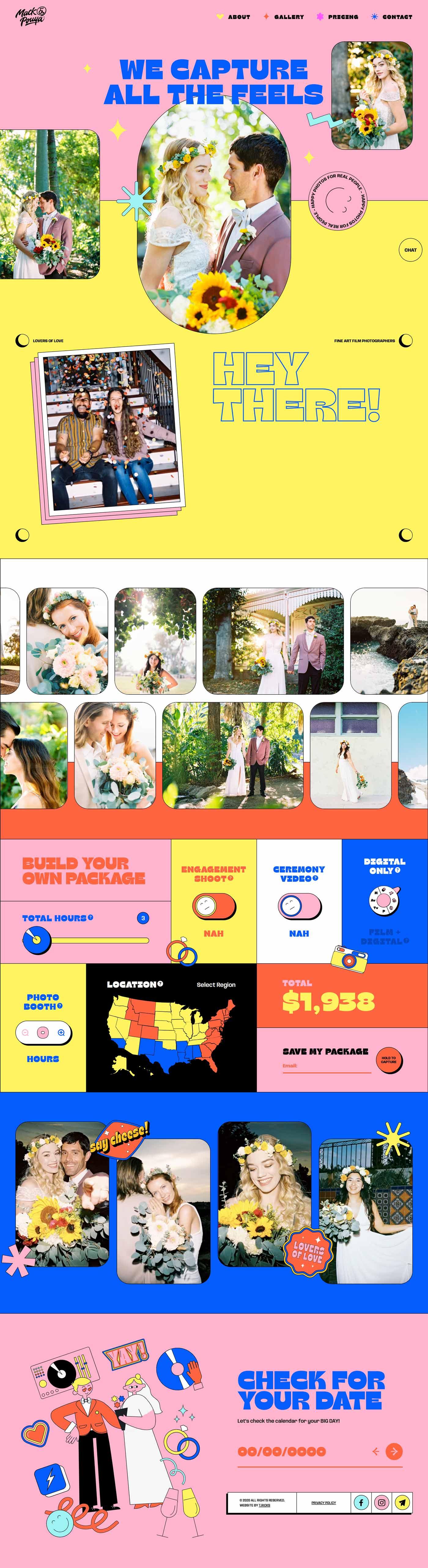 Mack & Pouya website - mackandpouya.com - Full screenshot